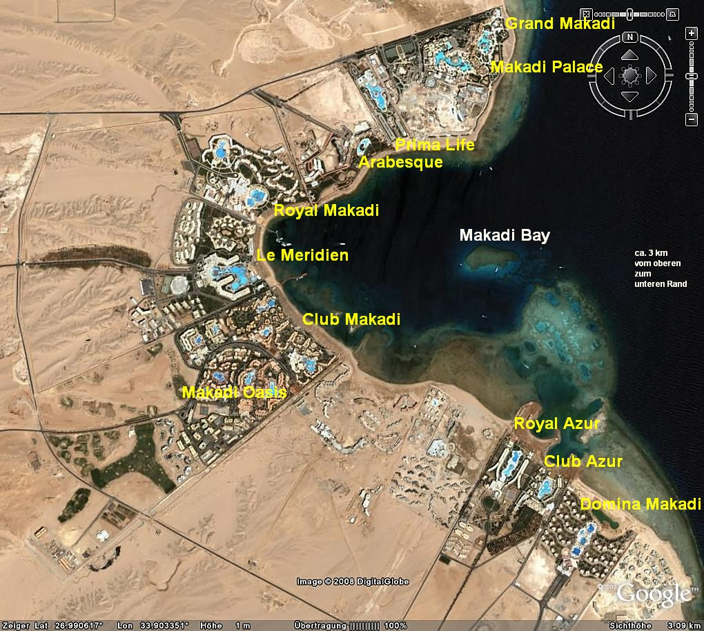 makadi bay karte Ägypten Reiseforum * Isis & Osiris * Aegyptenreiseforum * :: Thema